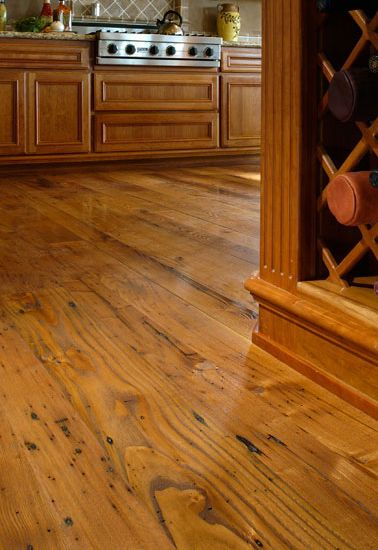 reclaimed chestnut kitchen by carlisle wide plank floorsreclaimed chestnut kitchen by carlisle wide plank floors