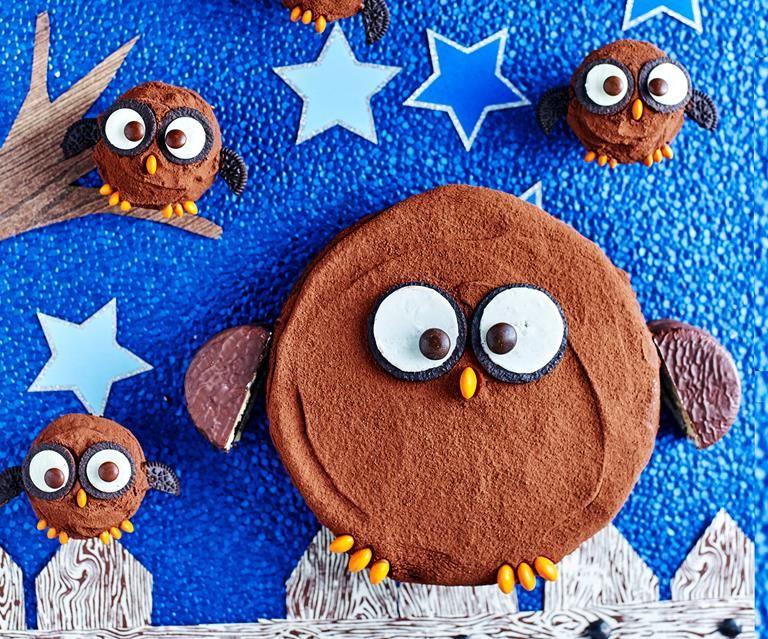 How to make hoot hoot horray owl birthday cake recipe