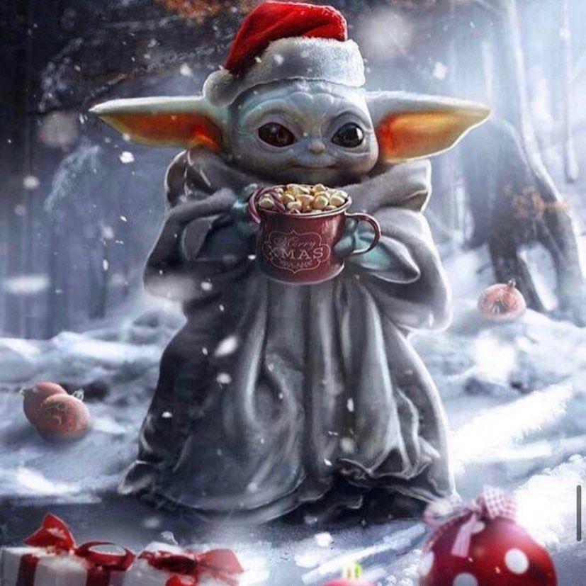 Fw Firewar16 On Instagram Christmas Time Baby Yoda Follow Elitefirewar 16 Starwars November Wallpaper Art Anime