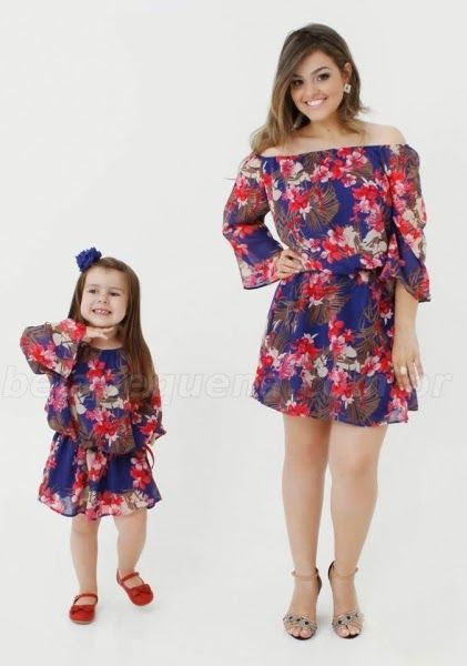 c18a61dfb7770 35 Vestidos mãe e filha | Mother Daughter Fashion | Daughter, Mother ...