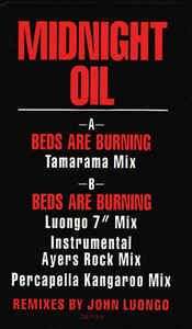 Midnight Oil - Beds Are Burning: buy 12