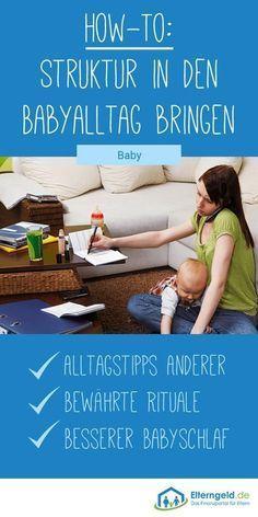 ᐅ So bringst du Struktur in deinen Baby-Alltag #dollcare