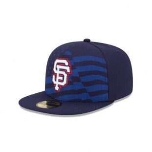 9461e434de1 New Era San Francisco Giants Stars And Stripes 59Fifty Fitted Hat (Navy)