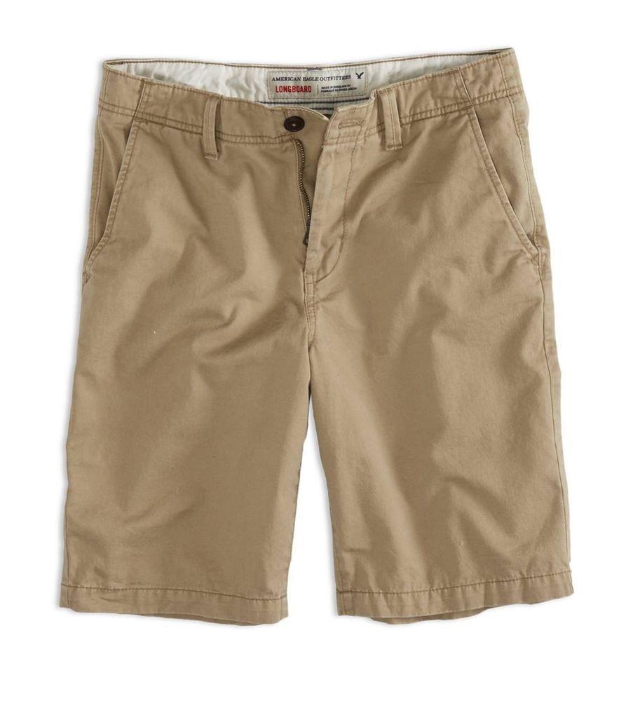 American Eagle Men's Shorts Size 33 Longboard 11.5 Inches Safari ...
