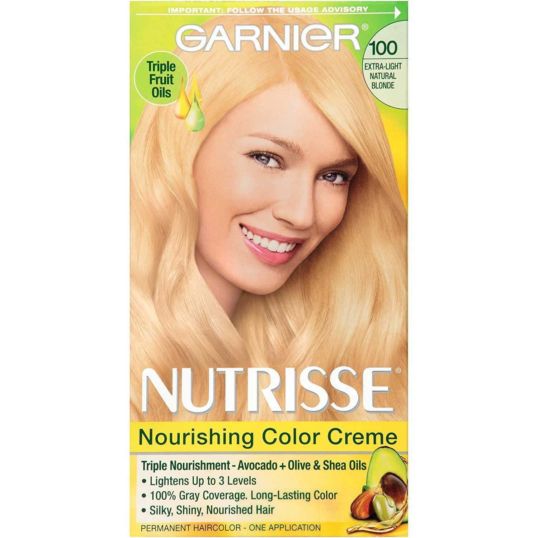 Garnier Nutrisse Nourishing Hair Color Creme 100 Extra Light