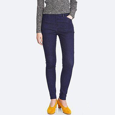 464c90ed3c3c73 WOMEN HEATTECH HIGH-RISE LEGGINGS PANTS, BLUE, medium | Style Want ...
