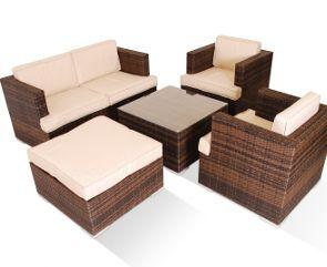 Med sofa set 5 pc Lux