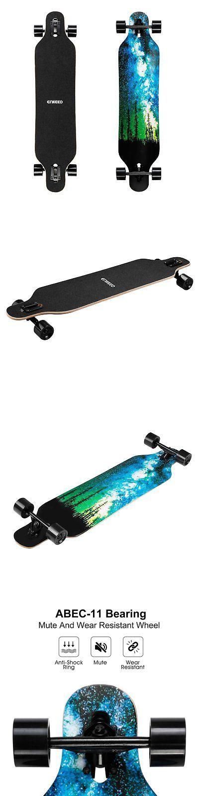 enkeeo longboard  Longboards-Complete 165942: Enkeeo 40 Inch Drop-Through Longboard ...