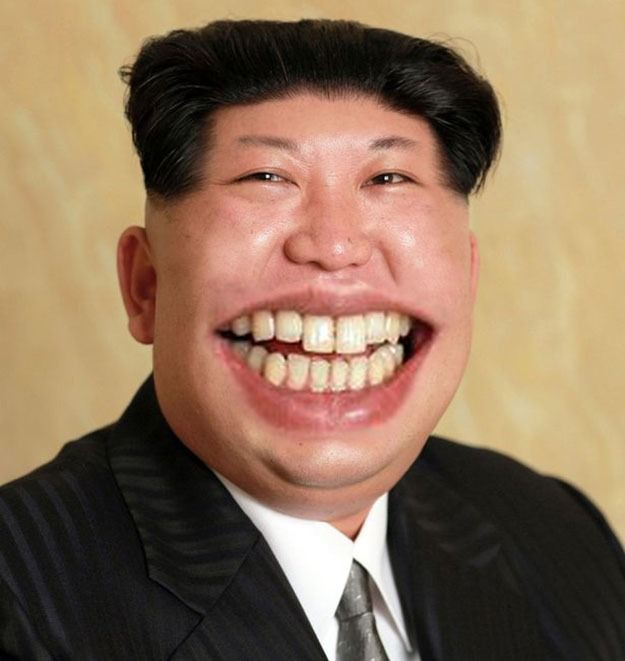 Smiley Picture Of Kim Jong Un Sparks Essential Photoshop Battle