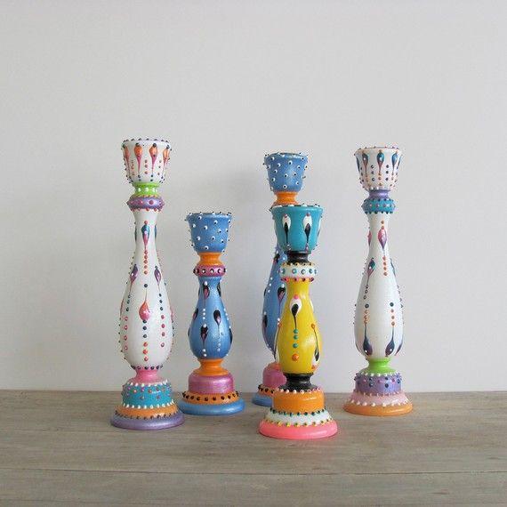 Bonitos candel holder interior design paint on glass - Sofas bonitos ...