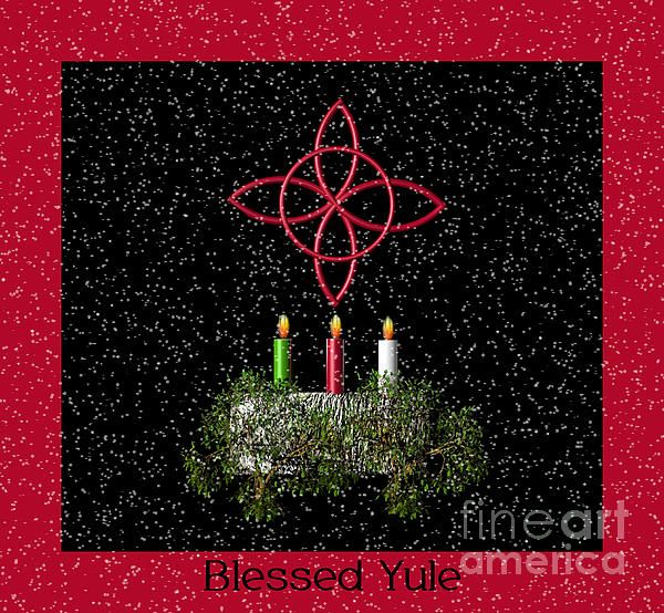 Blessed Yule   FineArt   Pinterest   Yule