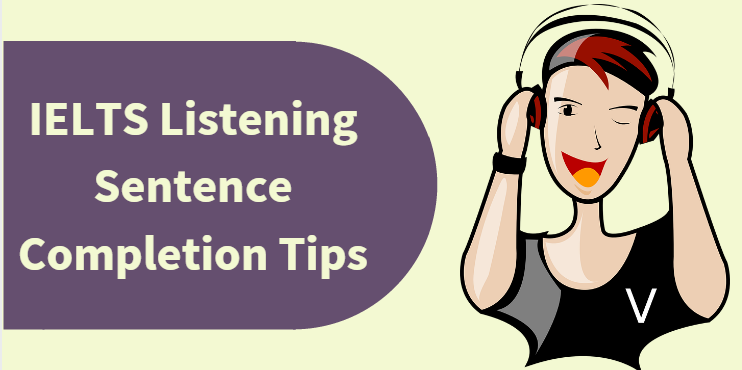 IELTS Listening Sentence Completion #Tips  Sentence Complete