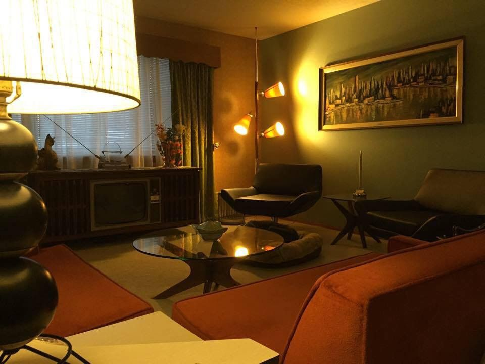 349 photos of readers\' livings rooms | Living rooms, Mid century ...