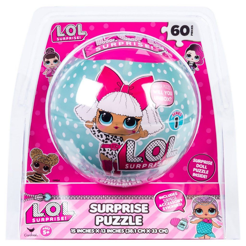 L.O.L Surprise! Doll Series 1 Mystery Blind 60-Piece