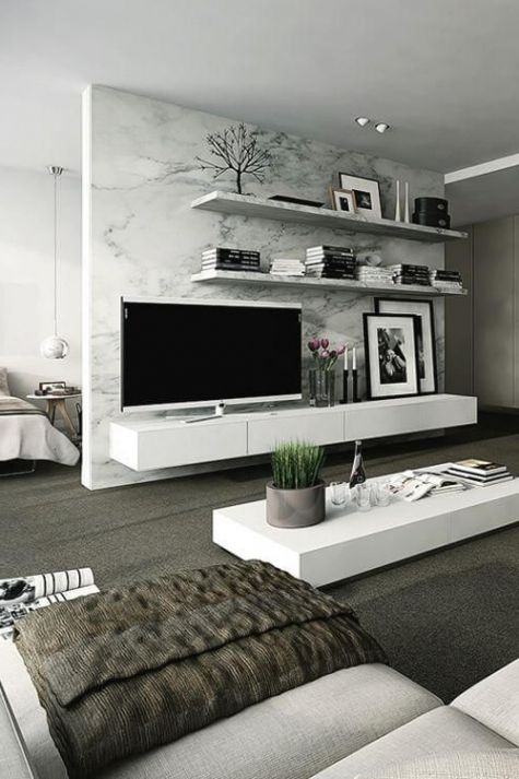 40+ Best and Adorable Modern Living Room Decoration Ideas Spring Summer 2017 / FresHOUZ.com