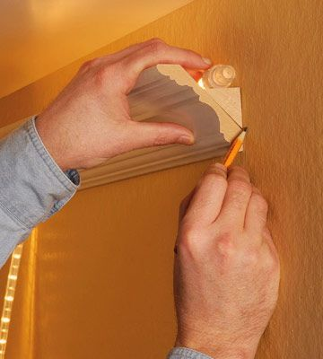 How To Install Crown Molding With Uplights Crown Molding Cove Lighting Home Improvement