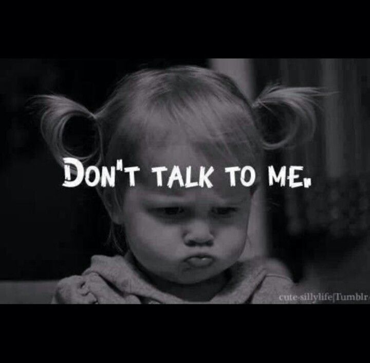 Dont talk to me...lol