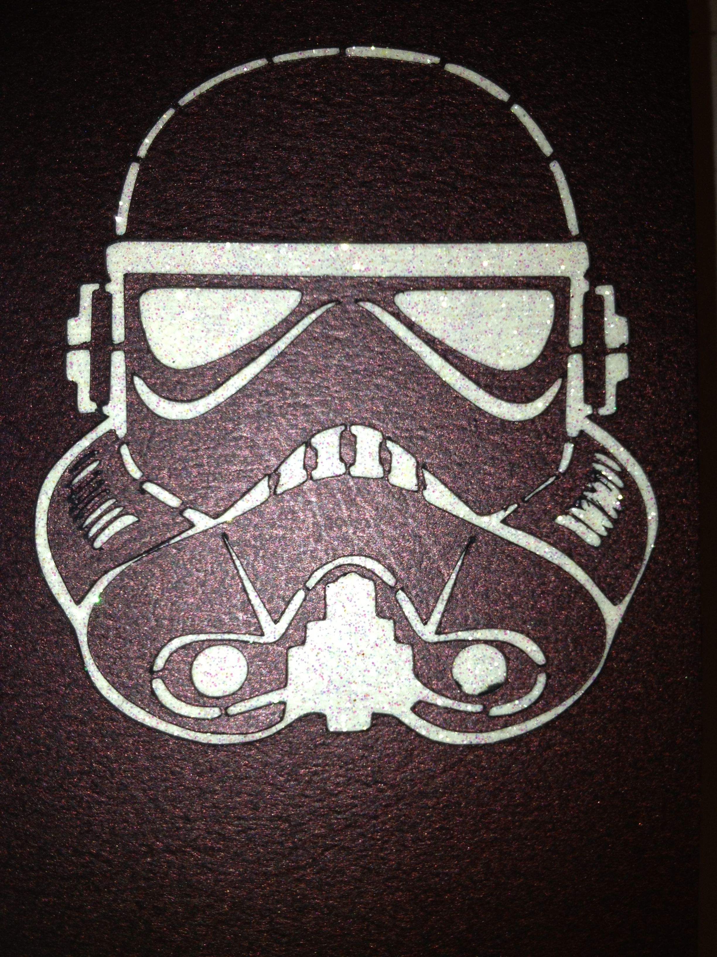 Star wars stormtrooper cut out birthday card made using silhouette star wars stormtrooper cut out birthday card made using silhouette portrait machine bookmarktalkfo Images