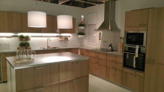 Ikea Rvs Keuken : Eiken en rvs keuken ikea keuken