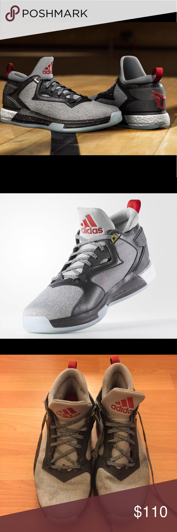 super popular 55186 7a10e Adidas D Lillard 2 Stay Ready Basketball Shoes 11 Excellent barely used basketball  shoes by Adidas. Special Edition. adidas Shoes Athletic Shoes