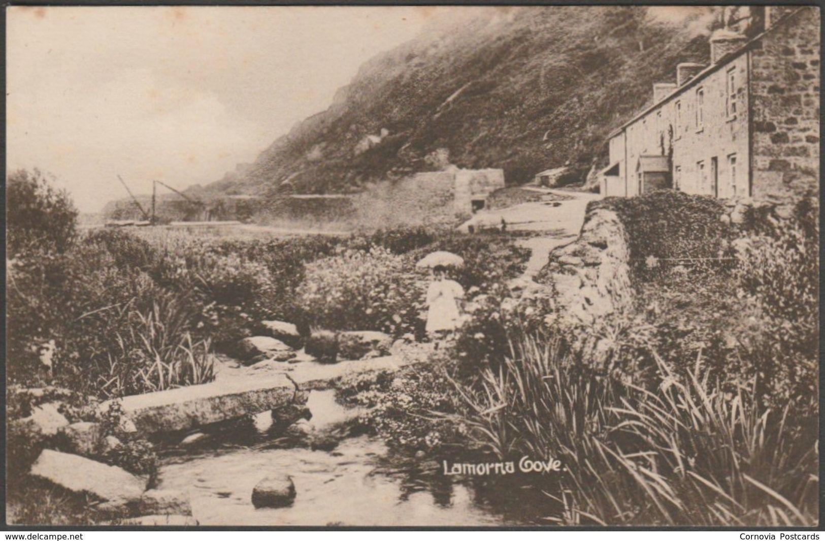 Lamorna Cove, Cornwall, c.1910s - Bowmaker Postcard