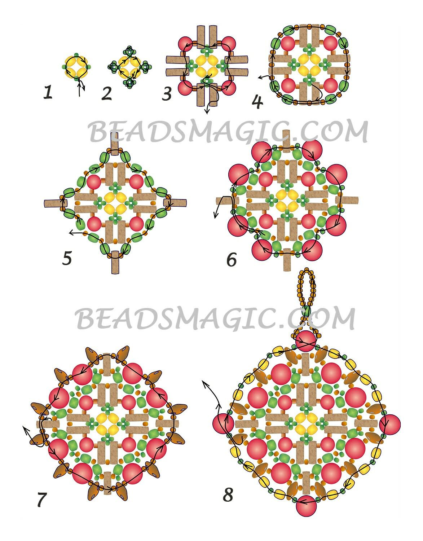 Pin by Tina on Beaded Jewlery | Pinterest | Beadwork, Beads and ...