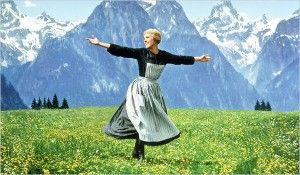 The Sound of Music -- No one seems to understand my love affair with this movie, but I just can't get enough!