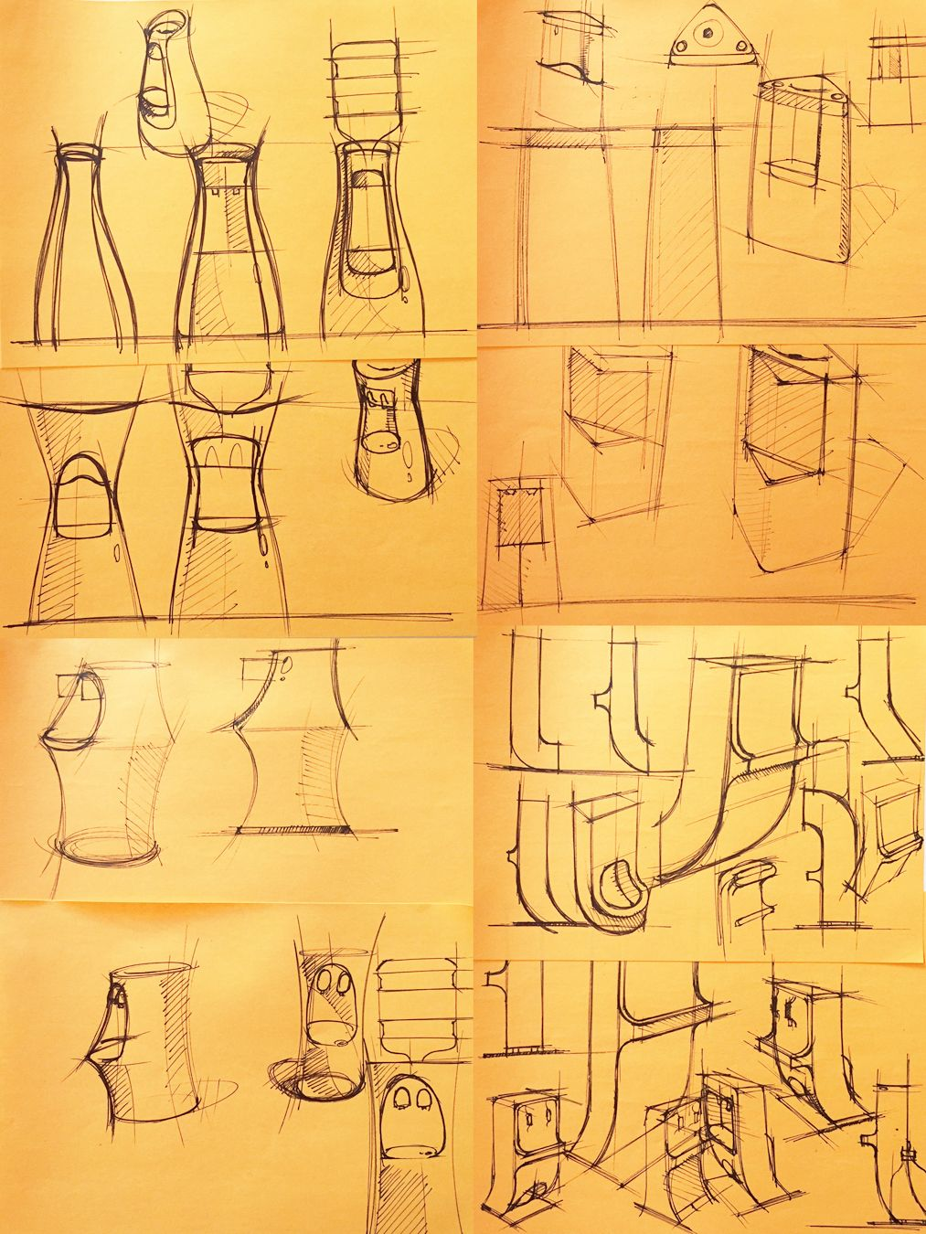 Process Insight Thumbnail Sketches For Kemflo Water Filtration Visual Brand Language James Owen Design Kemflo Design Industrialdesi Design Sketches