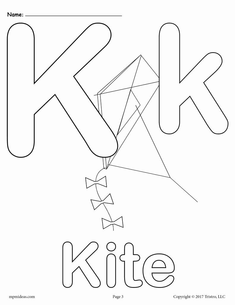 Letter K Coloring Sheets In 2020 Alphabet Coloring Pages