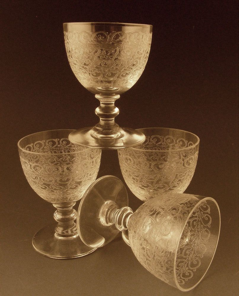 Vintage baccarat crystal stemware patterns casino city press