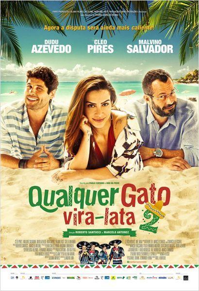 Qualquer Gato Vira Lata 2 Poster Gato Vira Lata Filmes