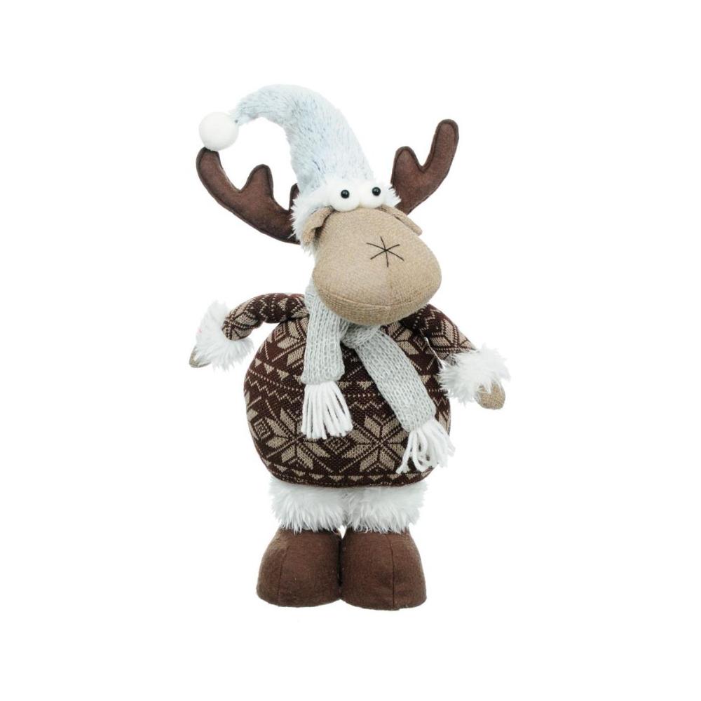 Los Pluszowy 48 Cm Swieczniki I Dekoracje Swiateczne W Atrakcyjnej Cenie W Sklepach Leroy Merlin Christmas Ornaments Novelty Christmas Holiday Decor