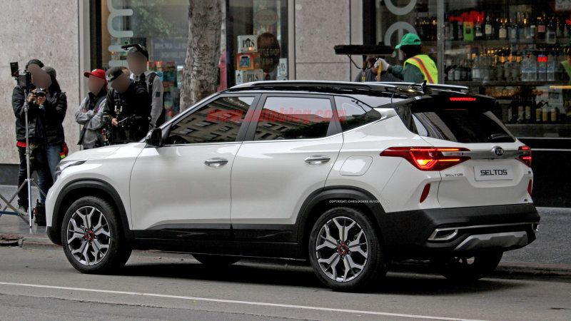 Kia Seltos Small Crossover Caught Uncovered In Spy Shots Small