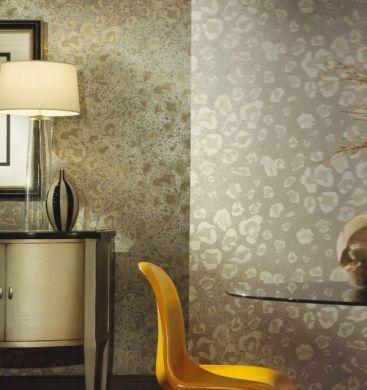 111d8c33b6b6a metallic leopard wallpaper   WALLPAPER - ANIMAL PRINTS - Animal Print  Leopard Metallic Silver .
