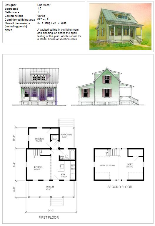 Katrina House Plans 2 Png 527 768 Pixels Cottage Plan Small House Movement Cottage Floor Plans
