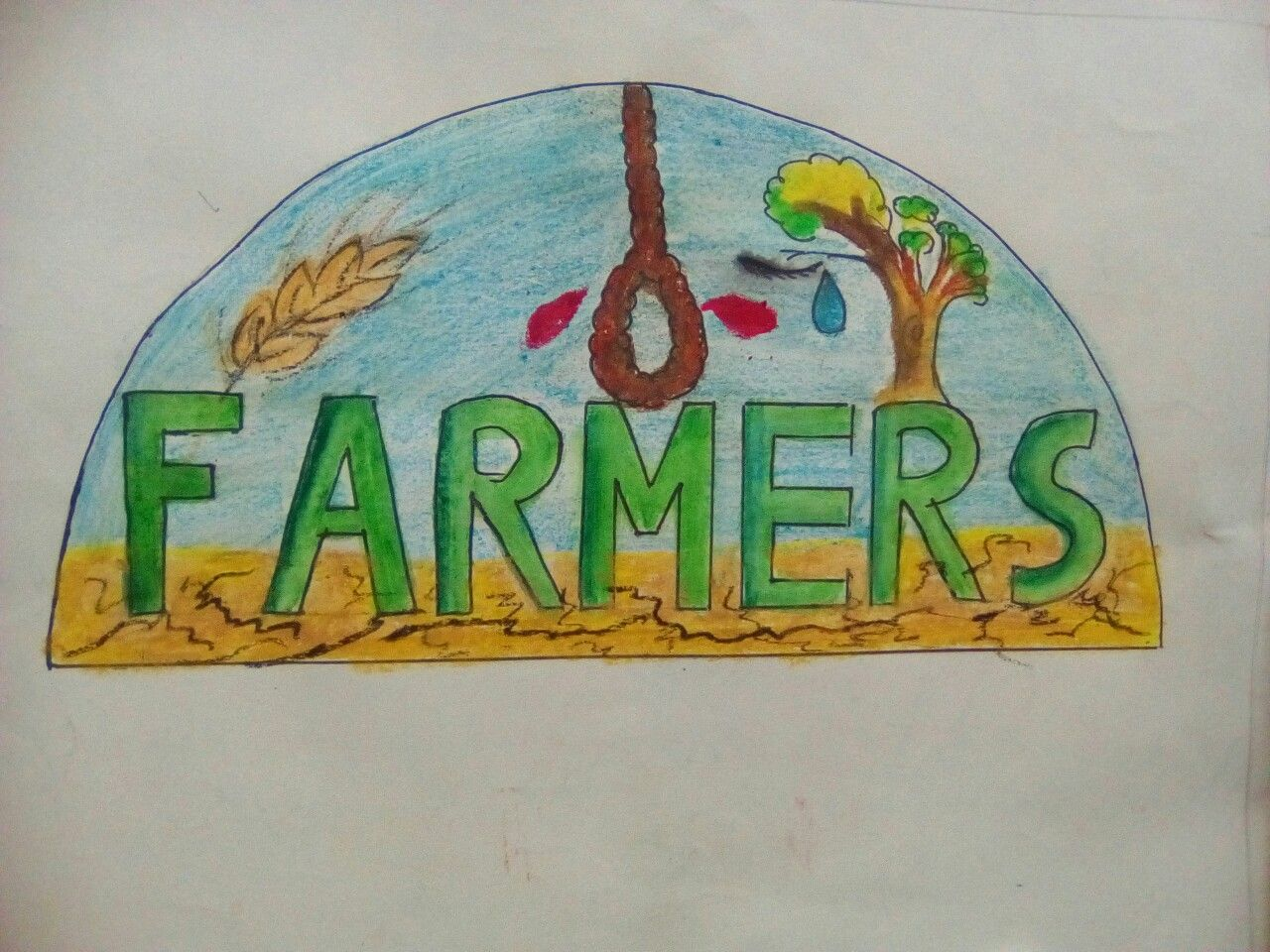 Farmers lettering Intermediate and elementary grade exams