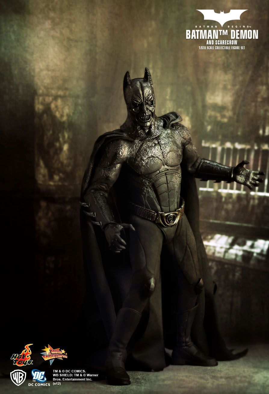 Batman Begins Batman Demon Batman Batman Begins Hot Toys