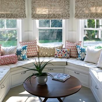 Curved Window Seat Window Seat Design Bay Window Seat Home