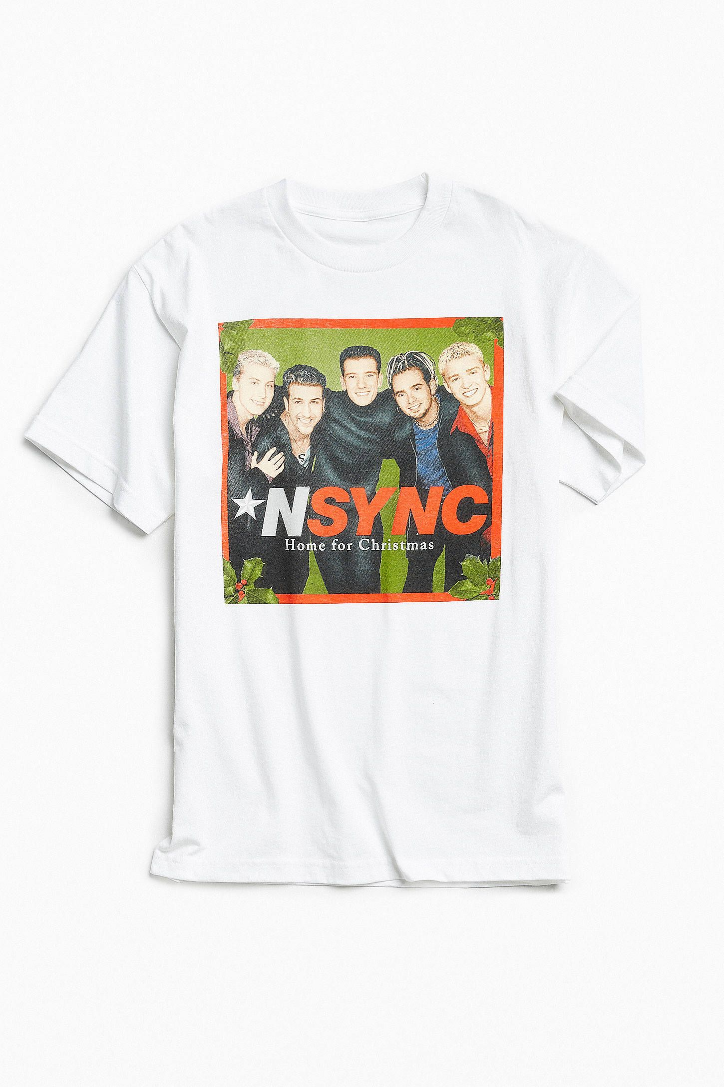 NSYNC Home For Christmas Tee in 2018 | Nsync | Tees, Christmas home ...