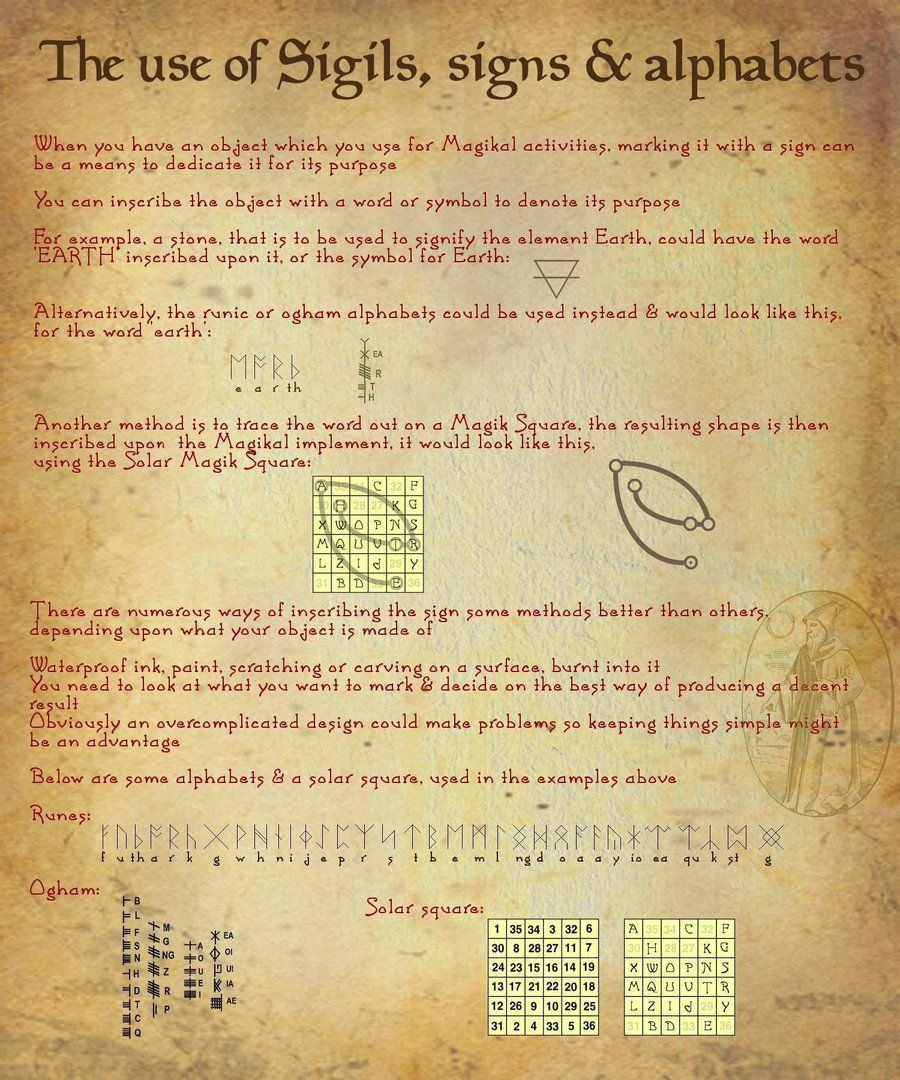 Book of shadows 08 page 4 by sandgroaniant on deviantart the use of signs sigils alphabets book of shadows 08 page 4 by sandgroan buycottarizona Choice Image