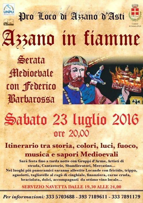 Italia Medievale: Azzano in Fianne