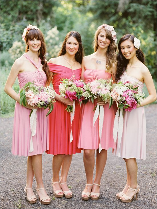 BRAUTJUNGFER KLEID DIE KLEINE TWIST   Hochzeit Rosa   Pinterest ...