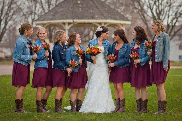 Camo wedding ideas for spring