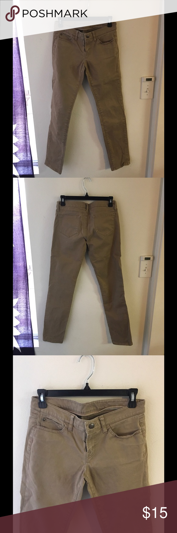 UNIQLO skinny pants size 2 In normal used condition, some fades, waist 64 cm is 25 inch Uniqlo Pants Skinny