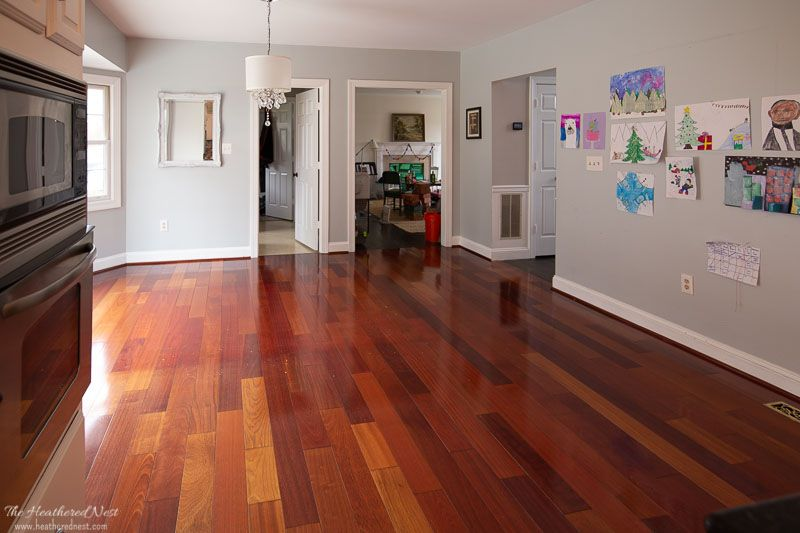 How to paint wood floorswithout sanding painted wood