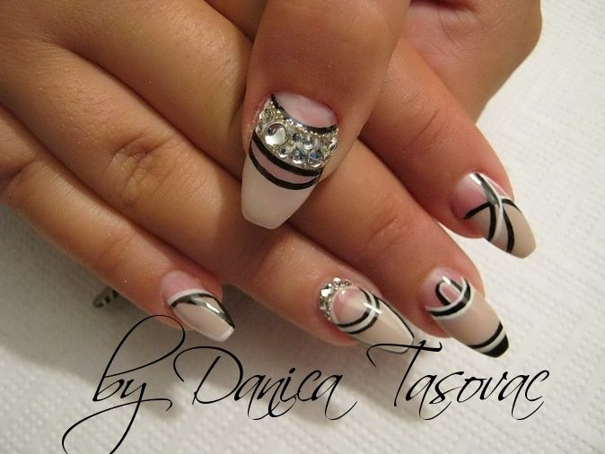 Izabela:)-all five - Nail Art Gallery | Nail-ed it | Pinterest ...