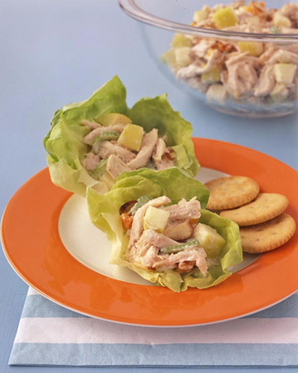 """Apple-Chicken Salad 