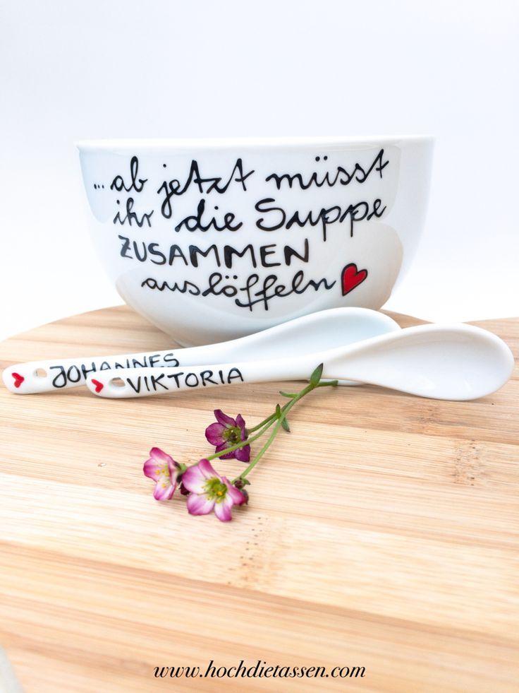 Zauberhafte Geschenkideen handbeschriftete Tassen by hochdietassen