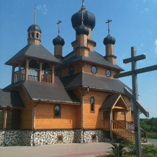 Russian Orthodox church near Minsk, Belarus
