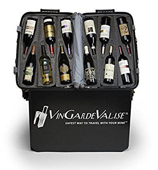 Vin Garde Valise Grande 04 Wine Travel Case One Size Matte Grey Wine Travel Case Wine Travel Wine